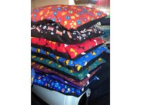 FABRIC DOG BEDS FOR SALE , 3 foot £8 , 5 foot £12 , FREE DELIVERY