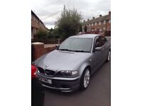 BMW e46 in good condition with11 months mot no rust on wheel arches comes with leather interior