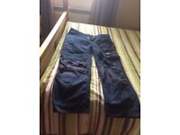 Snickers work trousers 2 pairs