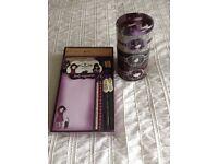 Girls 'Santoros Gorjuss' Desk Organisor and Trinket tin. Brand new still in packaging £5