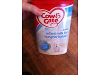 New sealed hungry baby milk