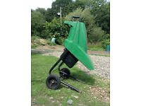 Power Base wood shredder/chipper for sale.