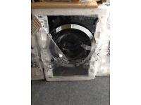 Beko 10kg 1400spin black washing machine. £360 RRP £429 new in package 12 month Gtee