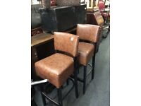 2 X good quality bar stools