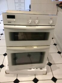BOSCH ELECTRIC DOUBLE OVEN, BUILT IN