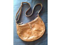 "Original Leather ""Longchamp"" bag"