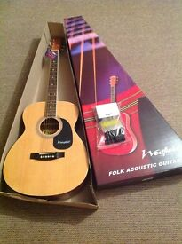 NEW Westfield Folk guitar with starter pack
