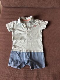 Shorts suit by M&S 6-9 months