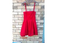 Red ONLY Prom/Graduation Dress Size Small *Never Worn*