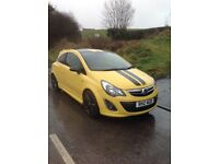 2013 VAUXHALL CORSA 1.2 LIMITED, NOT FIESTA CLIO OR 208