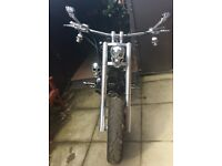 Harley Davidson 2005 FLSTFI 1550cc Customised Chopper