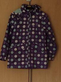 Trespass jacket age 7-8