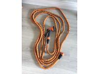 Orange 50ft stretch hose