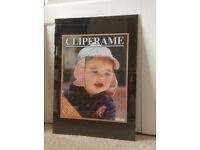 Large clip frame