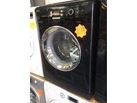 BEKO WMB91242LB 9kg 1200spin Black Washing Machine with 4 MONTHS WARRANTY