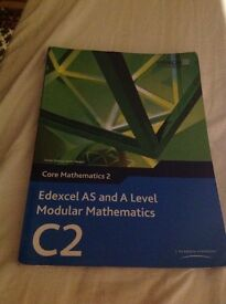 C2 Edexcel AS/A Level Maths book and CD!