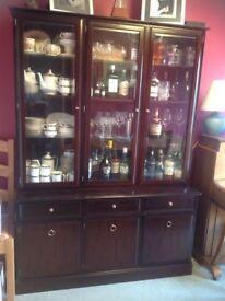 Mahogany dresser/sideboard