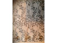 A pair of high quality cosy curtains for sale