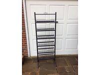 Metal shelving / rack display unit