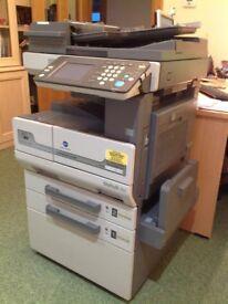 Konica Minolta Bizhub 250 photocopier, black & white