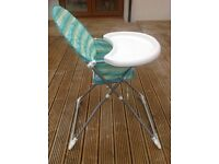 Mothercare baby folding feeding chair