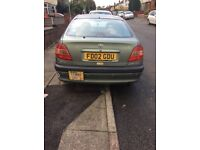 TOYOTA AVENSIS AUTOMATIC 10 MONTHS TAXI LICENCE