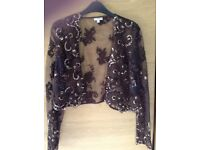 Phase Eight gorgeous evening dress size 14 with matching bolero jacket
