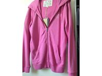 Jack Wills Pink Hoodie size small .Never worn .