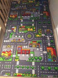 Children Car Road rug