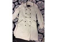Beautiful Zara Beige coat Size for sale XL