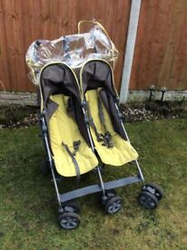 Mamas and papas Baby's twin buggy