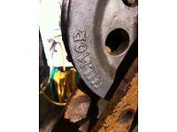 Hilmor pipe bender / vice