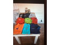 Clothes trainers t shirts etc