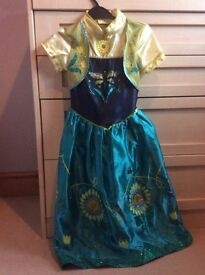 Frozen Anna princess up dressing up costume