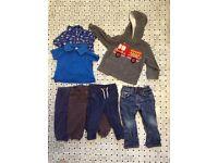Toddler boy clothes bundle 18-24 months