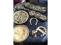 For sale collection of vintage brass £25