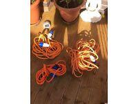 Caravan/camping cables