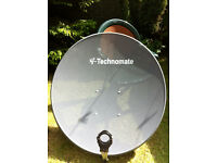 Technomate Mesh Hi-Gain Satellite Dish