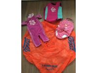 Zoggs Training Seat and swimming costumes