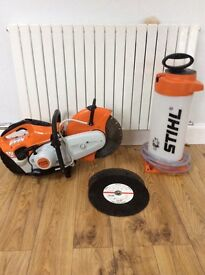 Stihl TS410 12in saw - four months old - light use.