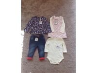 Baby girls clothing with tags!