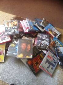 For sale 89 DVDs , action, comerdy, plus others