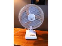 Rotating Carlton Breezy Desk Fan