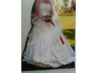 Brautkleid / Hochzeitskleid / weiß / Größe 36 Hessen - Trebur Vorschau