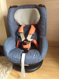 *PRICE JUST LOWERED * MAXI COSI TOBI CAR SEAT DEVINE DENIM SPECIAL EDITION EXCELLENT USED CONDITION