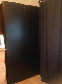 Excellent condition black bedroom furniture