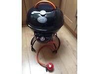 Patio/portable gas barbecue/oven in as new condition, high quality construction
