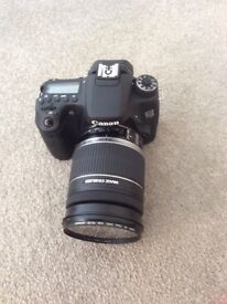 Canon 70 D camera & assessories