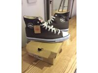 Brand New Men's Lee Cooper Hi Tops/ Trainer Boots (Converse Style) Size 8