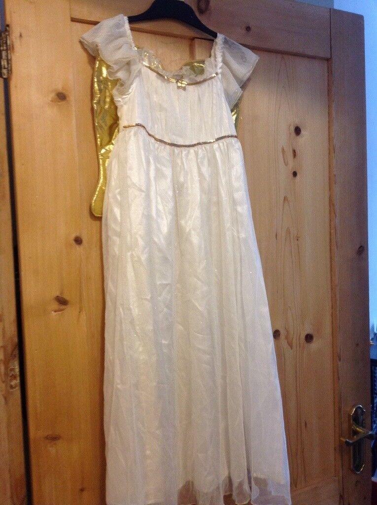 Pretty Angel Dress Age 5-6 yrs